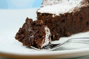 Tyler Florence's Ultimate flourless chocolate cake